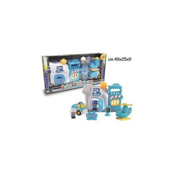 BABY POLIZIOTTO PLAYSET 64214