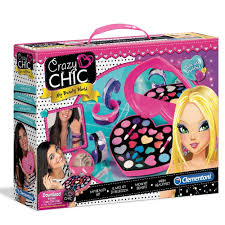 Crazy Chic- Il Mio Kit di Bellezza Clementoni